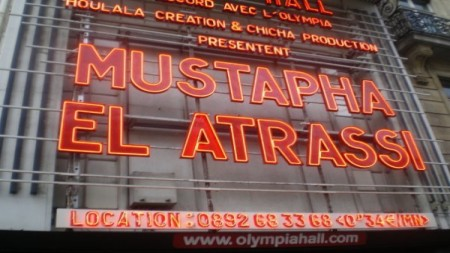 Mustapha El Atrassi à l'Olympia